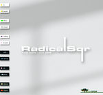 RadicalSqr Dock Icons by Leuchtstoff
