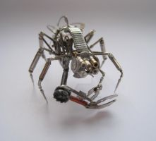 Mechanical Arthropod Creature by AMechanicalMind