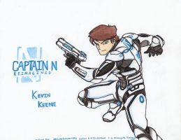 Captain N RE. - Kevin Keene by WMDiscovery93
