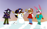 Mammal Camp: Twitchy The Snow-Squirrel by Mammal33