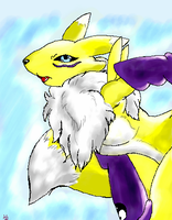 Renamon by DragonRiko