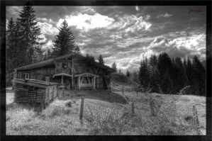 Barn at Oberstdorf BW by deaconfrost78