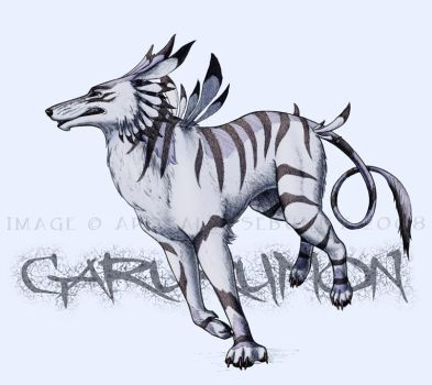 Garurumon by KanaScott