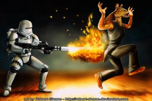 Star Wars - What Prequels? by Robert-Shane