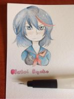 Ryuko Matoi by joannawentbananas
