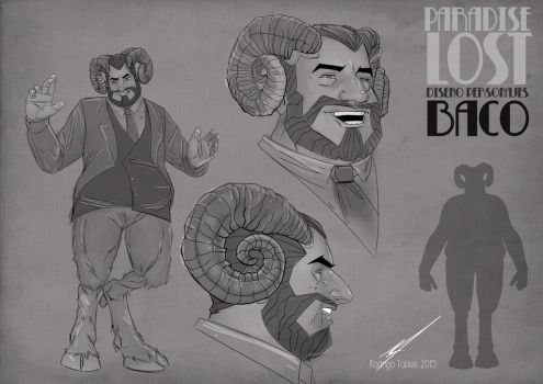 Paradise Lost Comic Project Character Desing-08 by RodrigoTobias