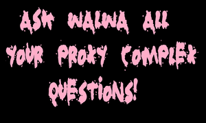Questions about Proxy Complex by Walwa