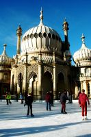 Pavilion Ice Rink by EarthHart