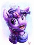 Snow Pony_Twilight by Tsitra360