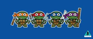 Mitesized Turtles by Nemons