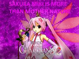 Sakura Miki is more than Mother Nature by JackFrost-LCDA