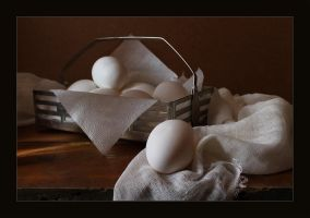 Etude with eggs by An-gora