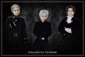 APH:GPA:Three people by fullmetalflower