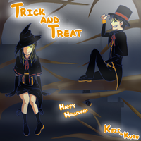 TrickAndTreat by KeiiGreenTea