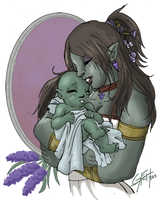 Skyrim: happy mother day by LaDarkA117