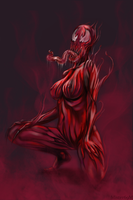 Carnage (Female Version) by Mister69M