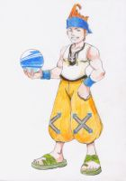 Wakka in colour by lenny-n-shoe