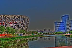 Olympic Park, Beijing by NullCoding