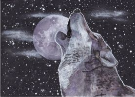 Cosmic Wolf by L-i-n-d-s