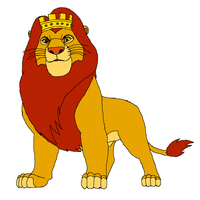 King Mufasa by KingLeonLionheart