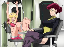 Honey's feet (space dandy) by Briel7