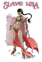 Slave Leia Finished Colors by CjB-Productions