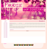 Paradise Layout Request - april (2013) by sweetonic