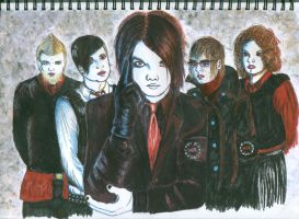 My Chemical Romance Spin Cover by batheincrimson