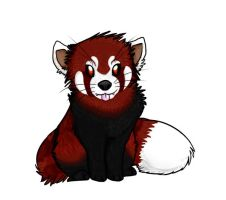 WIP Red Panda by HashHire