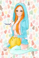 Colouring Practice: Orihime by SmilingChipmunkery