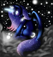Princess Luna by VardasTouch