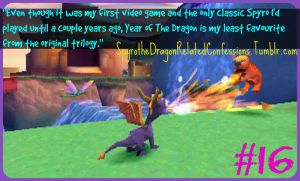 ( Spyro Confessions ) Least Fav of the Trilogy by KrazyKari