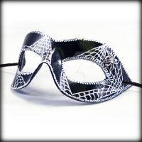Spider mask by pilgrimagedesign