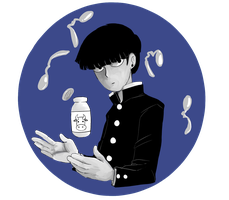 Mob Psycho 100 by geexgeexbaby