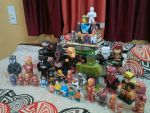 Paper heroes and cubeecraft collection by asirbachan