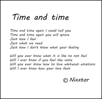Time and time by Nixxtor