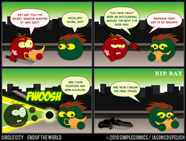 CC426 - End of the World 26 by simpleCOMICS