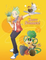 PKMN - It's Summer Time by sanna-mania