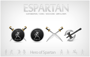 Spartan - Icons Pack by leofiger