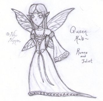 Queen Mab Sketch by chocolatewolf2000