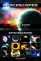 2013 - Spacescapes Calendar by WillFactorMedia