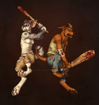 Zombie Hunters by Shadow-Wolf