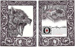 Brothers Grimm illustrations by mynameiso