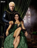 Lord and Lady Malfoy by Dhesia