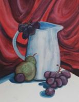 Still Life - Watercolour on paper by JediPinkiePie