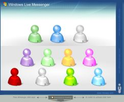 Windows Live Messenger by DragonXP
