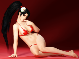 Dead Or Alive - Momiji 02  by DoraiBoonzu