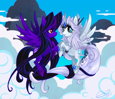 Clouds Clouds Clouds Love by BLACK-HEART-SPIRAL