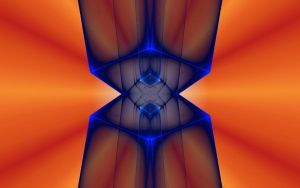 HOUR GLASS IN ORANGE by live2b