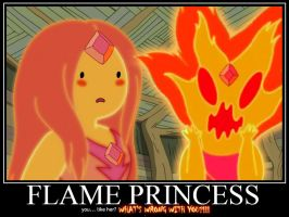 Flame Princess Demote by Sailmaster-Seion